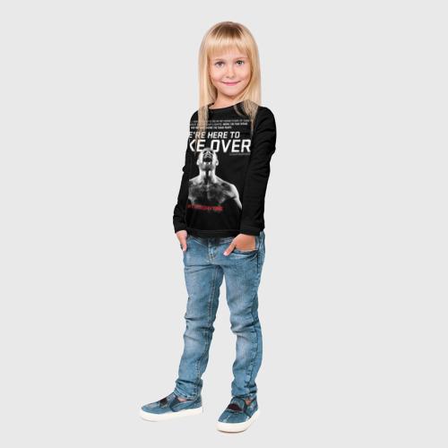 Детский лонгслив 3D  Фото 04, Конор Макгрегор 13