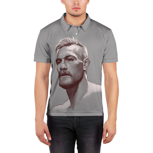 Мужская рубашка поло 3D  Фото 03, Конор Макгрегор 28