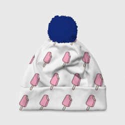 Мороженое розовое