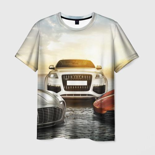 Мужская футболка 3D VIP класс