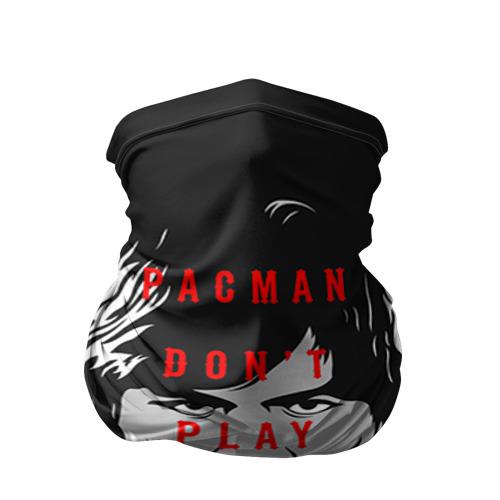 Бандана-труба 3D  Фото 01, PacMan don't Play games