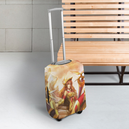 Чехол для чемодана 3D Леона Фото 01