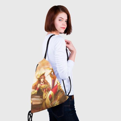 Рюкзак-мешок 3D Леона Фото 01