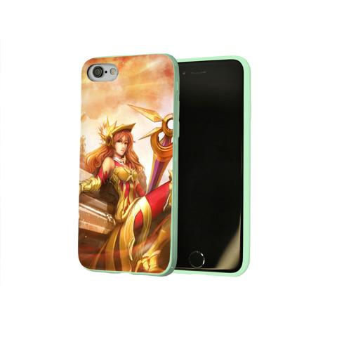 Чехол для Apple iPhone 8 силиконовый глянцевый Леона Фото 01