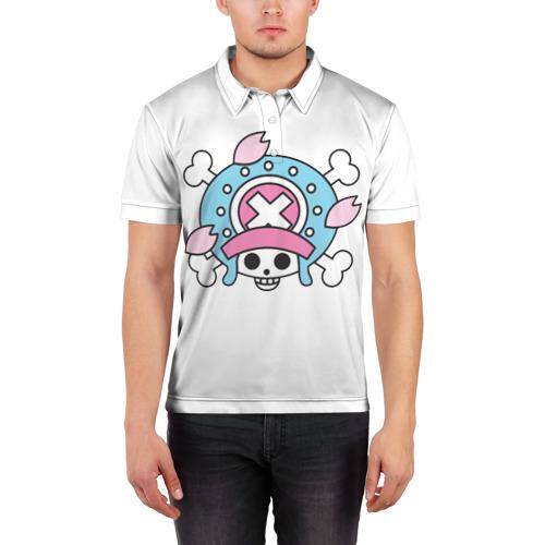 Мужская рубашка поло 3D  Фото 03, Флаг Чоппера