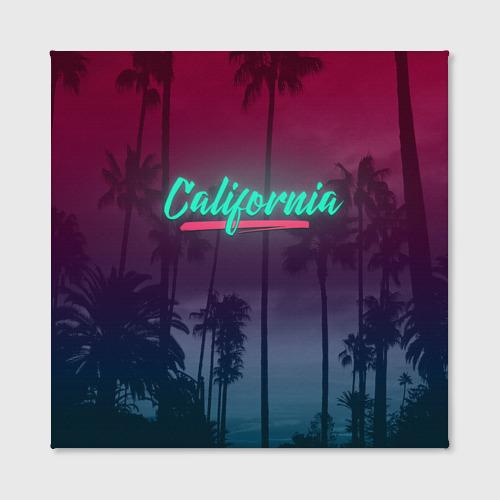 Холст квадратный  Фото 02, California