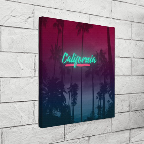Холст квадратный  Фото 03, California