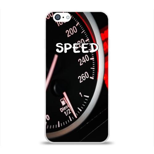 Чехол для Apple iPhone 6 силиконовый глянцевый  Фото 01, Скорость