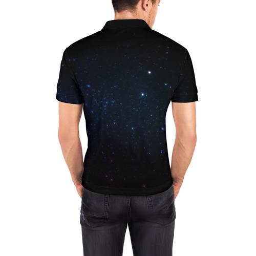 Мужская рубашка поло 3D  Фото 04, Deep Space