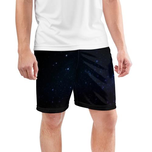 Мужские шорты 3D спортивные  Фото 03, Deep Space