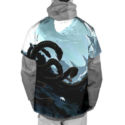Накидка на куртку 3D  Фото 02, Dragon