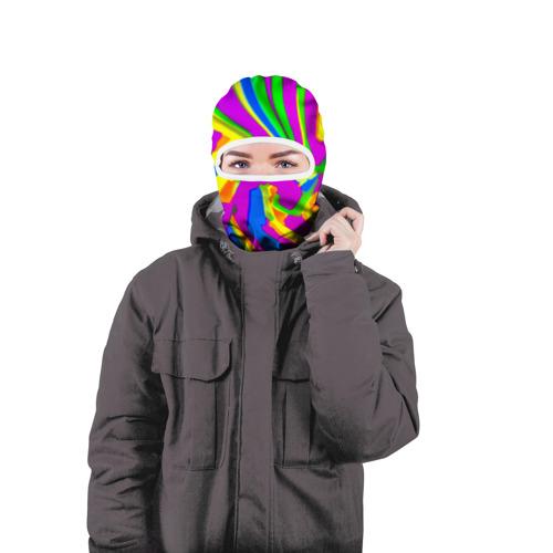 Балаклава 3D  Фото 04, Tie-Dye