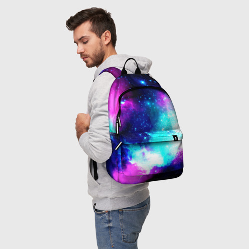 Рюкзак 3D Космические краски Фото 01
