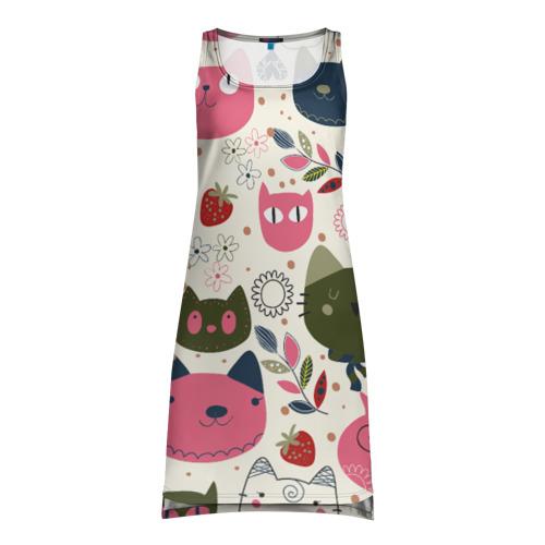 Платье-майка 3D Котаны