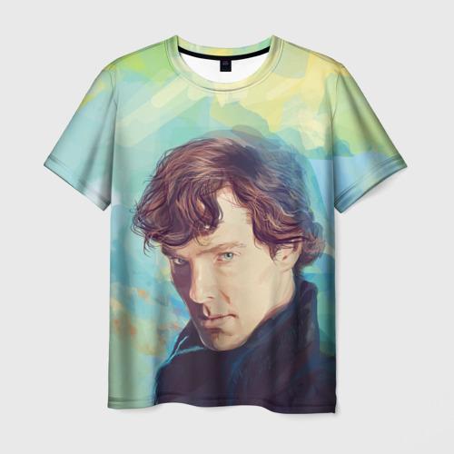 Мужская футболка 3D Элементарно