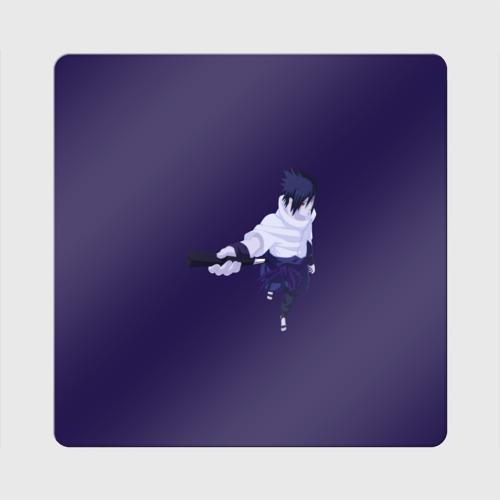 Магнит виниловый Квадрат Sasuke Uchiha Фото 01