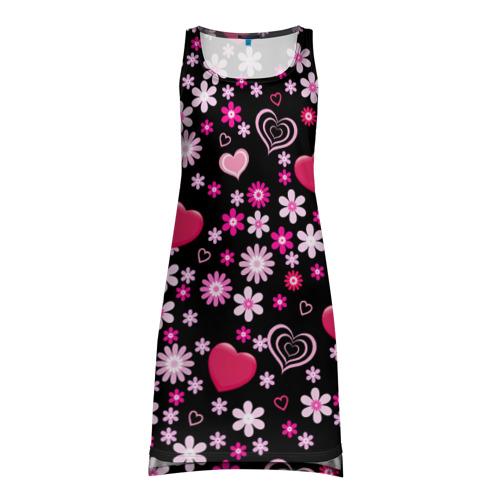 Платье-майка 3D  Фото 01, Волшебный орнамент