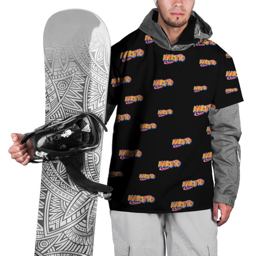 Накидка на куртку 3D  Фото 01, Naruto Multi Logo
