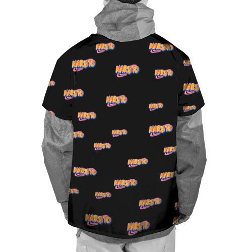 Накидка на куртку 3D  Фото 02, Naruto Multi Logo