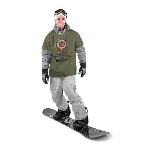 Накидка на куртку 3D  Фото 03, Отличный Танкист (Т-28 цвет)