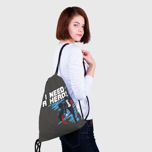 Рюкзак-мешок 3D  Фото 02, I need a hero