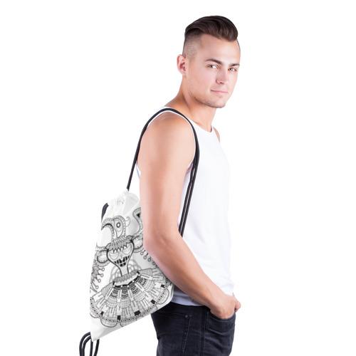 Рюкзак-мешок 3D  Фото 03, Орел Апачи