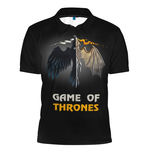 Мужская рубашка поло 3D  Фото 01, Игра престолов