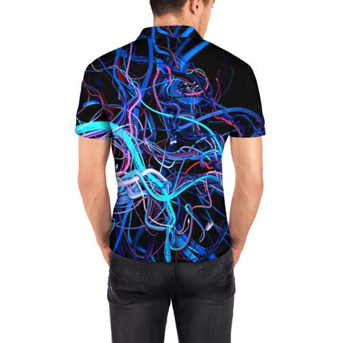 Мужская рубашка поло 3D  Фото 04, Провода