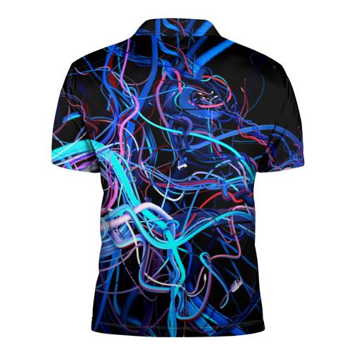 Мужская рубашка поло 3D  Фото 02, Провода