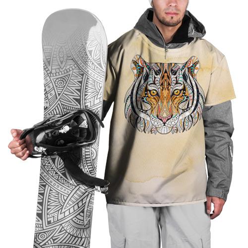 Накидка на куртку 3D  Фото 01, Тигр 2