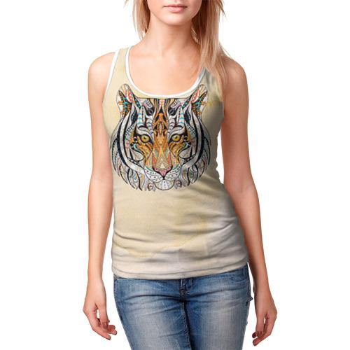 Женская майка 3D  Фото 03, Тигр 2