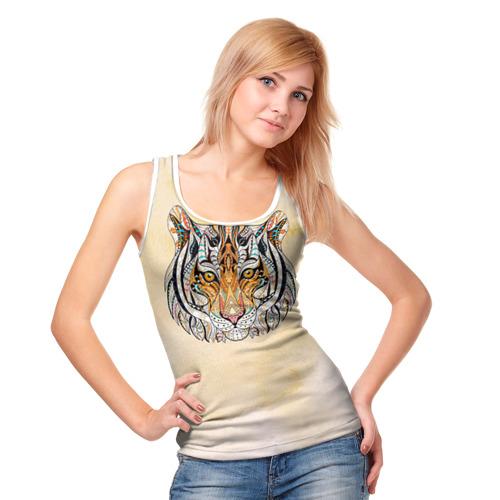 Женская майка 3D  Фото 05, Тигр 2