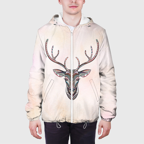 Мужская куртка 3D Олень Фото 01