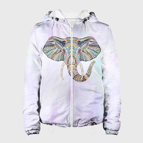 Женская куртка 3D  Фото 01, Слон
