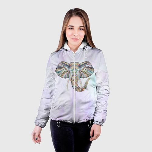 Женская куртка 3D  Фото 03, Слон