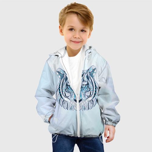 Детская куртка 3D  Фото 03, Тигр