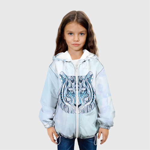 Детская куртка 3D  Фото 04, Тигр