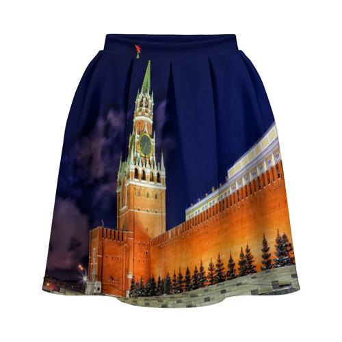 Юбка-солнце 3D Кремль