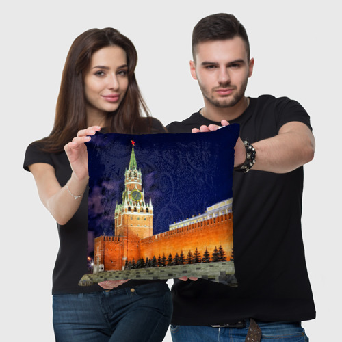 Подушка 3D  Фото 05, Кремль