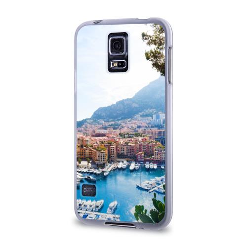 Чехол для Samsung Galaxy S5 силиконовый  Фото 03, Монако