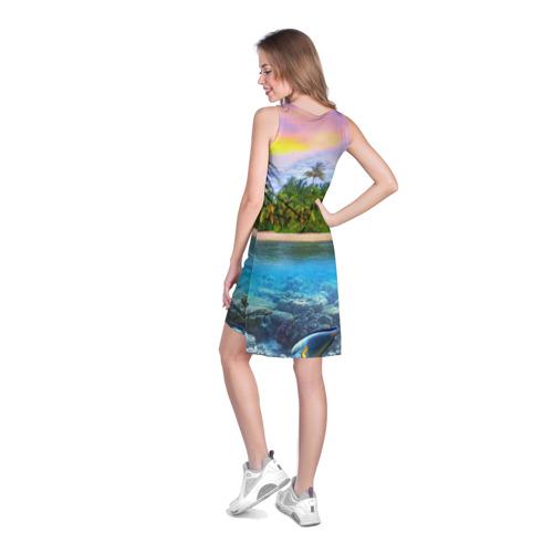 Платье-майка 3D  Фото 04, Мальдивы