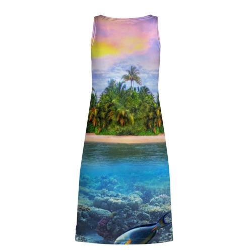 Платье-майка 3D  Фото 02, Мальдивы