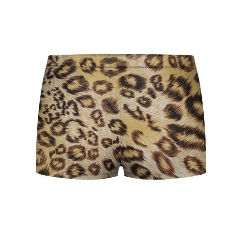 Мужские трусы 3D Леопардовая ткань Фото 01