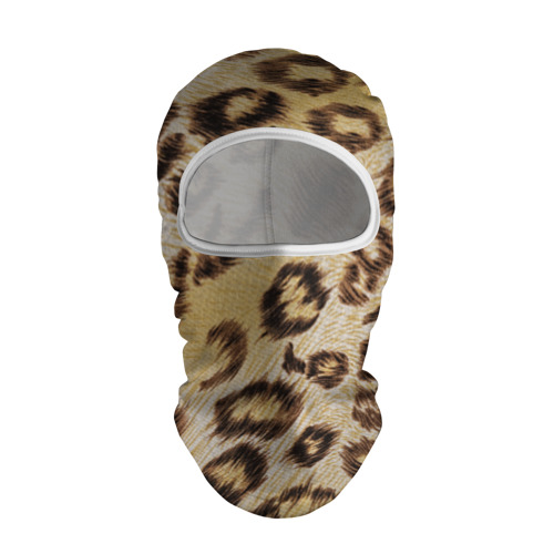 Балаклава 3D  Фото 01, Леопардовая ткань