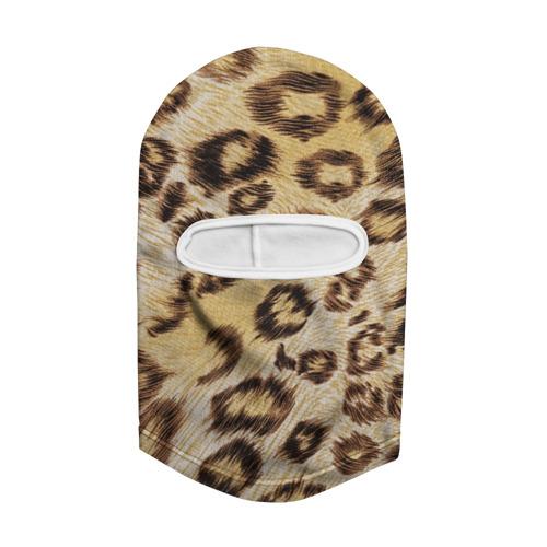 Балаклава 3D  Фото 02, Леопардовая ткань