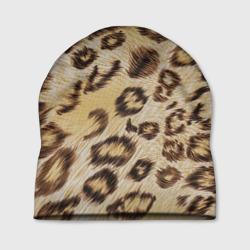 Леопардовая ткань