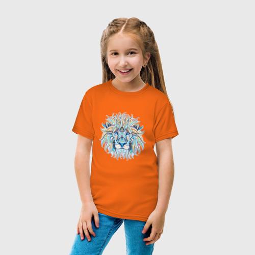 Детская футболка хлопок Лев Фото 01