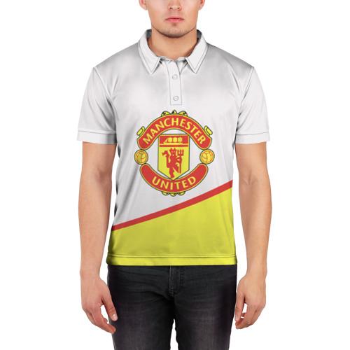 Мужская рубашка поло 3D  Фото 03, Манчестер