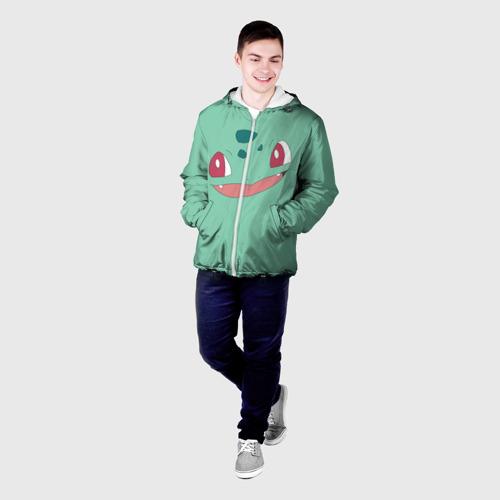 Мужская куртка 3D  Фото 03, Бульбазавр