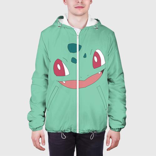Мужская куртка 3D  Фото 04, Бульбазавр